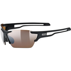 UVEX Sportstyle 803 Colorvision Sportglasses black matt/outdoor